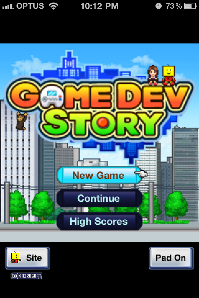 Build Console Game Dev Story